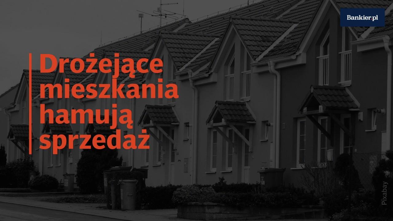 Drożejące mieszkania hamują sprzedaż