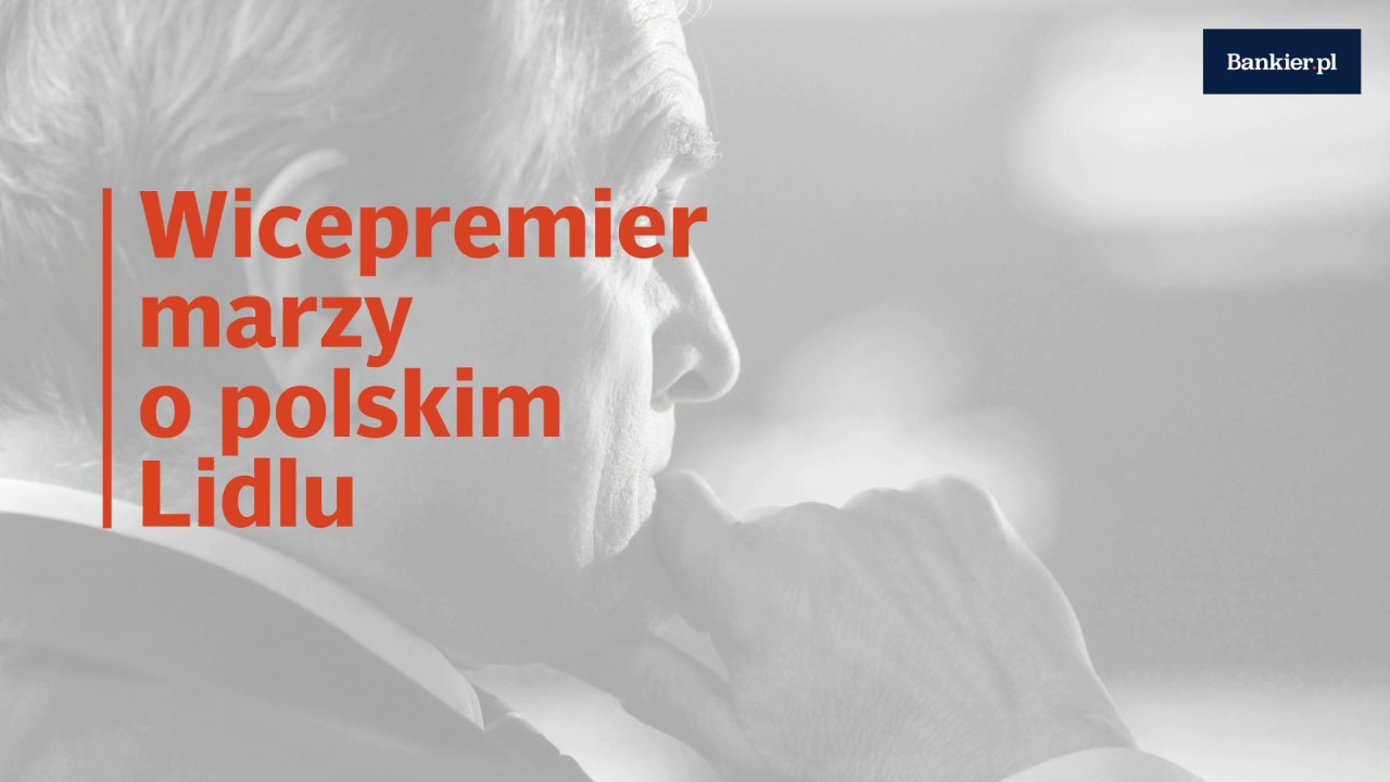Wicepremierowi marzy się polski Lidl